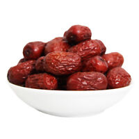 JUJUBE CHINESE RED DATES SUN DRIED ORGANIC 100% NATURAL 250g