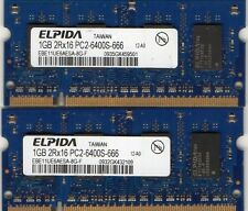 2GB 2x 1GB Kit HP Compaq Presario Series C300 / C500 / C700 DDR2 Laptop Memory