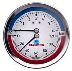 Manometer Thermomanometer Thermometer Axial / Hinten - Radial / Unten TOP PREIS