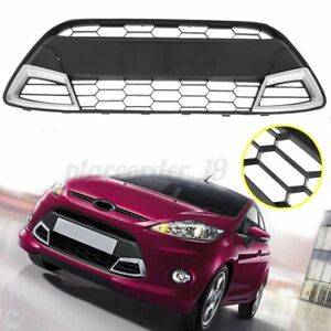 FOR FORD FIESTA MK7 SPORT HONEYCOMB STYLE FRONT BUMPER LOWER GRILLE CENTRE