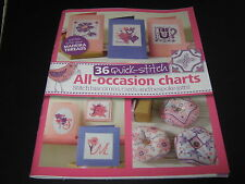Cross Stitch Charts 36 Quick Stitch All Occasion Cards