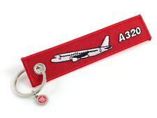 Airbus A320 Schlüsselanhänger Keyring A320 Remove Before Flight Rot