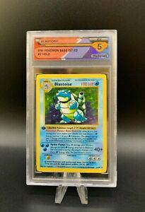 1999 Pokémon BLASTOISE #2 Holo 1st Edition 💎 DSG 5