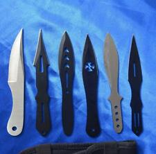 Ninja Brand New throwing sharp knife 6pcs 14x7cm