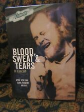 """Blood, Sweat & Tears, """"In Concert"""" (New & sealed DVD)"""