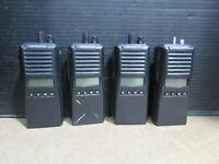 Lot of 4 Kenwood TK-380 Walkie Talkie Portable Two Way Radio UHF FM Transceiver