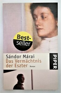 Das Vermächtnis der Eszter  von Sándor Màrai   Taschenbuch  Gebraucht / Sehr gut