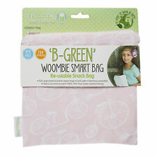 Woombie B-Green Snack Bags (Summertime Fun, One Size)