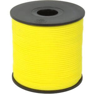 100m Maurerschnur 3mm Schnur Leine 120kg gelb Polypropylen PP Lot Richtschnur