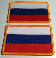 2 RUSSIA Flag Patch with VELCRO® brand fastener Military Police Emblem #7