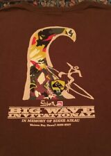 Quiksilver Eddie Aikau Eddie Would Go 2006- 2007 Big Wave Invitational Shirt  L