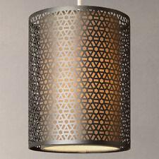 John Lewis Meena Easy-to-Fit Pendant Light, Brushed Steel *RRP £65*