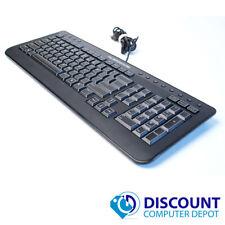 Dell Alienware Multimedia Slim Gaming Keyboard USB USA QWERTY SK-8165 H9Y23