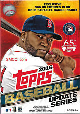 2016 Topps Traded Updates Baseball Series Sealed Unopened Hanger Box of 72 Cards