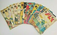 Adventures of the Fly #'s  5,7,8,10,11,14,17,21,22,23,25,27,29,30 Silver-Age Lot
