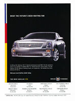 2005 Cadillac STS - future - Classic Vintage Advertisement Ad A17-B