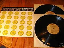 ELVIS PRESLEY WORLDWIDE GOLD AWARD HITS PARTS 1 & 2 ~ 1974 RCA