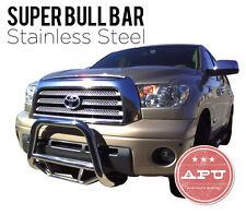 Fits 2008-2012 Ford Escape Super Bull Bar Brush Bumper Guard SS w/ Skid Bars