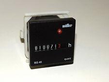 Müller BG40 Contador de horas de funcionamiento BG40.X7-10T50 12-48V DC Bueno