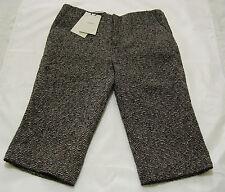 PORTS 1961 Ladies knee length grey/black wool tailored short BNWT