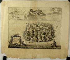 Voyage hollandais, l'île de Sainte Hélène, XVIIème