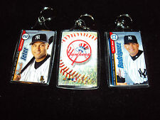 Ny Yankee Greats Keychain - A-Rod, Jeter, Soriano or Mickry Mantle