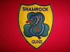 Vietnam War Patch US D Troop 1st Squadron 10th Cavalry Regiment SHAMROCK GUNS