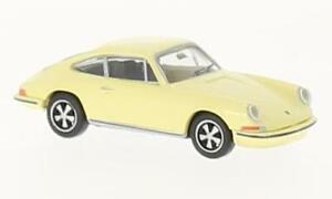 Porsche 911, hellgelb, 1:87, Brekina