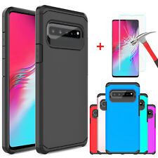 For Samsung Galaxy S10 5G Protective Case / HD Full Cover Glass Screen Protector