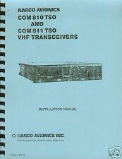 NARCO COM 810 / 811 TSO INSTALLATION MANUAL