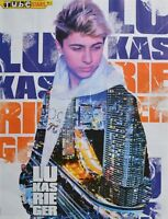 LUKAS RIEGER - A2 Poster (XL - 42x55 cm) - Clippings Fan Sammlung NEU