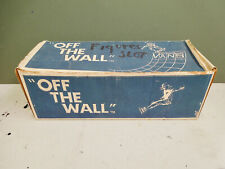 """Vans """"Off The Wall� Shoeboxes-One 1960's Vintage Blue & White Box and One New!"""