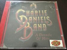 """A Decade of Hits"" by The Charlie Daniels Band (CD, 1999, Epic) *GC*"