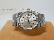 Rolex SS/WG Men's Oyster Quartz Datejust 36mm 17014 from 1981