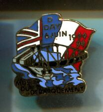 RARE PINS PIN'S .. ARMEE ARMY DEBARQUEMENT D-DAY 1944 PONT BRIDGE MUSEE ~CT