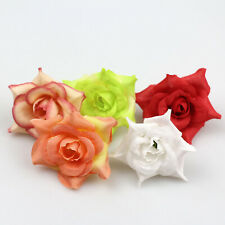 10-100Pcs Mini Silk Rose Head Artificial Flowers Party Wedding Bouquet DIY Decor