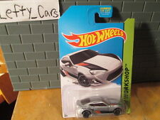 HOT WHEELS 2013 Silver Toyota Scion FRS Car SCALE 1:64 (MALAYSIA) On Long Card