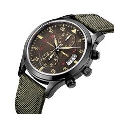 Reloj Cronógrafo yisuya para Hombres Calendario Militar Deportivo Impermeable japeness movem