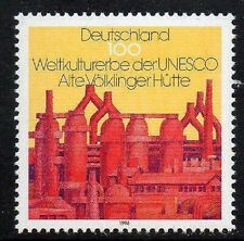 WEST GERMANY MNH STAMP SET DEUTSCHE BUNDESPOST UNESCO 1996 SG 2730