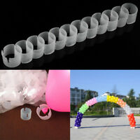 50Pcs Balloon Ring Clip Balloon Buckles Arches Plastic Party Accessories Gadget