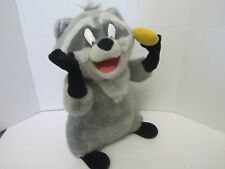 "Disney Pocahontas Meeko the Raccoon 15"" Plush with Rotating Head & Arms"