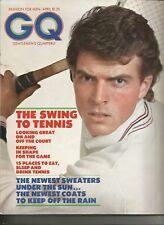 Gq Gentlemen'S Quarterly April 1973-Tennis Wear-Spring Clothes-Rainwear
