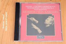 Händel Concerto Grosso op 6/12 - Tchaikovsky Symphonie n°4 -Karajan Live 1954 CD