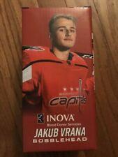 NIB Rare 2018 Washington Capitals Jakub Vrana Inova Bobblehead NHL Hockey Czech