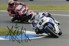 James Toseland main signé winwin Honda 6x4 photo.
