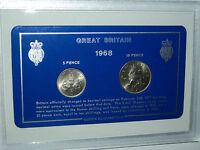 1968 Vintage Coin Set 50th Birthday Birth Year Present Wedding Anniversary Gift