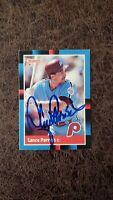 1988 Donruss Lance Parrish #359 - Philadelphia Phillies - Autographed!