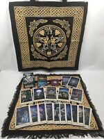 The Hobbit Tarot Set - PLUS Goddess Tote And Layout Cloth, Rose Quartz & Bag