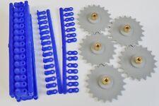 Chaîne & Kit Pignon Hub en laiton pour le Modélisme 20 Dents laiton hub, 700mm chaîne