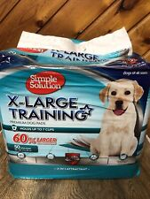 Simple Solution Training Pads for Dogs, Extra Large, 50 Count New